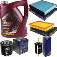 Ölwechsel Set 5L MANNOL Energy Premium 5W-30 Motoröl + SCT Filter KIT 10755088