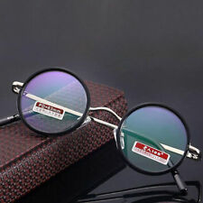 Vintage Round Aspheric Lens Coating Reading Glasses Eyeglass Readers +1.00~+4.00