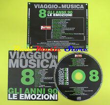 CD VIAGGIO IN MUSICA 8 compilation PROMO 04 POOH PAOLI GIORGIA (C4*)no mc lp dvd