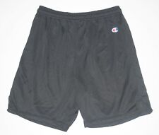 Vintage Champion mens sport basketball black shorts Size XL 90's