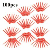 100 Lames de Rechange Plastique pour Coupe-bordures Sans fil FRTA 20 A1,18B
