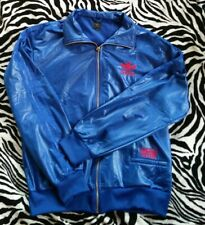 ORIGINAL RARE COLLECTOR Used Adidas Chile 62 Shiny Glanz Wetlook Jacket Gear