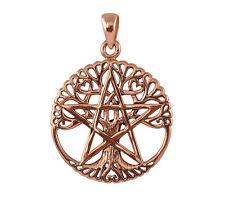 Copper Tree Pentacle Pendant - Wicca/Pagan Celtic Pentagram Talisman/Amulet