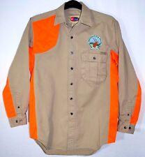 Pro Gear Wrangler Hunting Shirt Shooting Rocky Mtn Elk Foundation Mens M 15-15.5