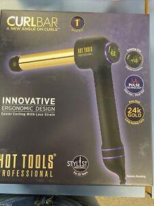 Hot Tools Professional 24k Gold CURLBAR, 1 Inch Free Shipping