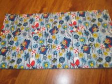 New - Pirates Print Cotton Handmade Quilted Baby Bassinet Liner, Changing Pad