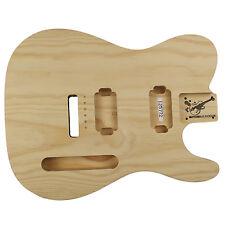 Guitar Body GUITARBUILD TC 2.1 kg 2 PC sucre PIN HH, avec tremolo 125772