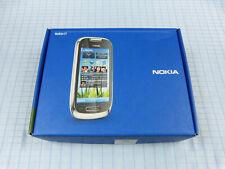 Nokia C7-00 8GB Schwarz! Ohne Simlock! TOP ZUSTAND! OVP! Einwandfrei! RAR!