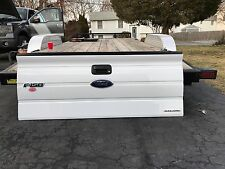 09 10 11 12 13 14 FORD F150 TAIL GATE NEW TAKE OFF (WHITE) LAST ONE NO SHIP