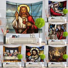 Jesus Christ Printing Wall Hanging Yoga Mat Ethnic Wall Hanging Tapestry Decor