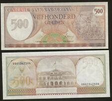 Surinam 500 Gulden 1982 Pick 129 UNC