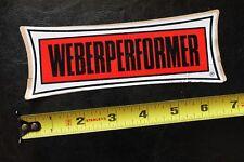 WEBER PERFORMER Dewey Weber Surfboards Original Surf V4 Vintage Surfing STICKER