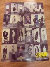 EXO - GROWL XOXO [KISS VER.] CD W/ BOOK (104 PAGE) + UNFOLD POSTER K-POP EXO-K