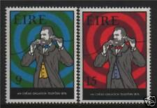 Ireland 1976 Telephone Centenary SG 389/90 MNH