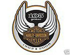 HARLEY DAVIDSON 105TH ANNIVERSARY LOGO DECAL