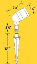 CORONA LIGHTING 12V CL-515-RT ALUMINUM LANDSCAPE LIGHT MINI BULLET RUST  sc 1 st  eBay & Corona Aluminum Outdoor Lighting Equipment | eBay azcodes.com
