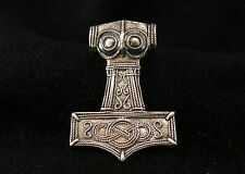 Thor's Hammer miniature in sterling silver(952)
