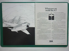 6/1970 PUB IBM FEDERAL SYSTEMS LTV VOUGHT A-7 TACTICAL COMPUTER ORIGINAL ADVERT