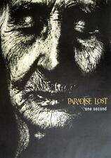 "PARADISE LOST POSTER ""ONE SECOND"""