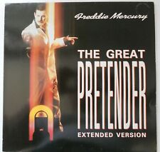 "Freddie Mercury The Great Pretender Maxi 45T 12"" inch French Promo Stamp Queen"