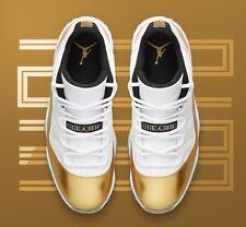 Nike Air Jordan 11 Retro Low Gold Closing Ceremony QS Sz 9.5 OVO - 528895-103