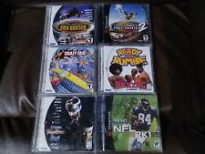 Sega Dreamcast Lot of 6 games Crazy Taxi Ready 2 Rumble Tony Hawk Virtua Fighter