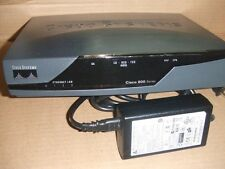 CISCO SYSTEMS 877 Security 4 Port ADSL Router 800 Series 877-SEC-K9 Tested