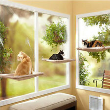 20KG Cat Basking Window Hammock Perch Cushion Bed Hanging Shelf Seat Mounted