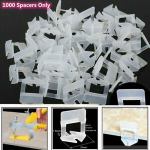 1000PCS Tile Leveling Spacer System Tool Clips  Flooring Lippage