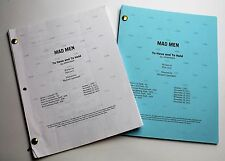 Mad Men * 2x DIFFERENT 2012 TV Script DRAFTS * Jon Hamm * Season 6, Episode 4
