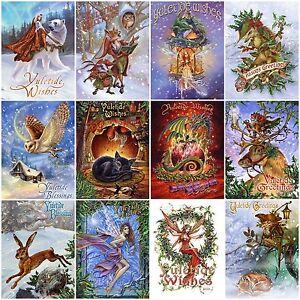 Briar Yule Midwinter Solstice Greeting Card Alternative Christmas Pagan Wiccan