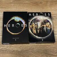 MINT Condition Heroes - Season 1, 2 LOT (DVD, 2007, Disc Set)