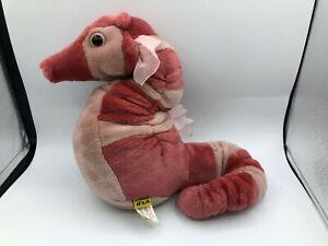 Wild Republic Cuddlekins Pink Seahorse Sea Horse Fish Plush Stuffed Toy Animal