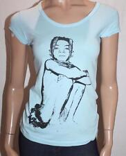 Joker Valve Designer Blue Printed Short Sleeve Tee Size S BNWT #SX32