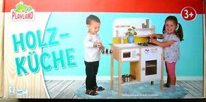 """Holzküche für Kinder """"PLAYLAND"""" +neu und ovp++"""