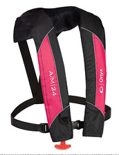 Onyx Outdoor A/M-24 Auto/Man Inflatable Life Jacket-Pink 132000-105-004-14