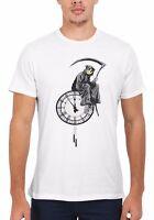 Banksy Graffiti The Grim Reaper Art Men Women Vest Tank Top Unisex T Shirt 1759
