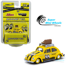 Tarmac Works x Schuco 1:64 Volkswagen Beetle Mooneyes With Roof Rack and Luggage