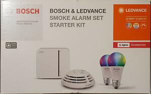 Bosch Smart Home Starter Set + LEDVANCE + Rauchmelder