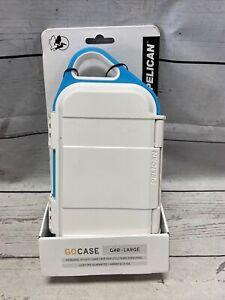 Pelican Go Case G40 - White/Aqua