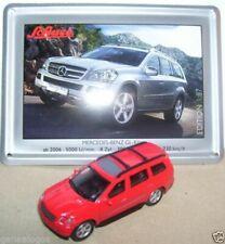 Voitures, camions et fourgons miniatures rouges Mercedes 1:87