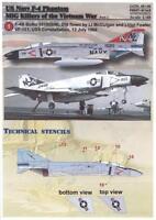 Print Scale Decals 1/48 U.S. NAVY F-4 PHANTOM II MiG KILLERS IN VIETNAM Part 2