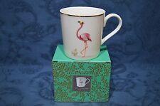Portmeirion Sara Miller 12 oz Tea / Coffee Mug - Fabulous Flamingo BNIB