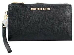 US BOUGHT Michael Kors Double Zip Phone Wallet Wristlet Jet Set Travel