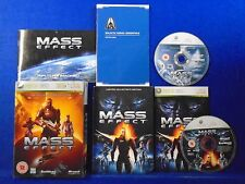 xbox 360 MASS EFFECT *x Limited Tin Collectors Edition REGION FREE Pal English