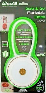 Portable Desk Lamp Nightlight Touch Sensitive LED 3 Modes USB Or Battery Power