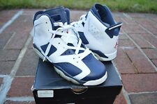 Nike Air Jordan Retro 6 VI Olympic 2012 Sz 6y Authentic