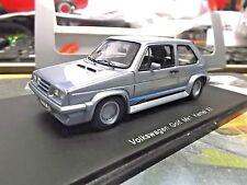 VW Volkswagen Golf MKI GTI Kamei X1 Body Kit Tuning blue met spark Resin 1:43