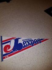 Montreal Expos Original NOS 1980's New Felt Vintage Pennant defunct