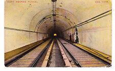 PRE-OPENING FORT GEORGE SUBWAY TUNNEL, 191 ST & FORT WASHINGTON AVE,  INWOOD NYC